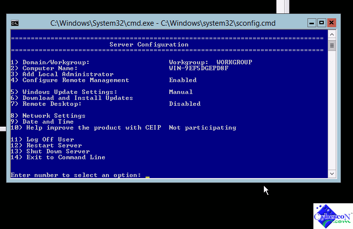 Microsoft Hyper-V Server 2012 network install via PXE -