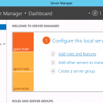 Windows Server 2012 - Server Manager