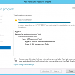 Hyper-V finish install and reboot