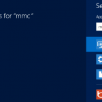 Windows 8 Search mmc.exe