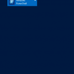 Run Powershell as administrator